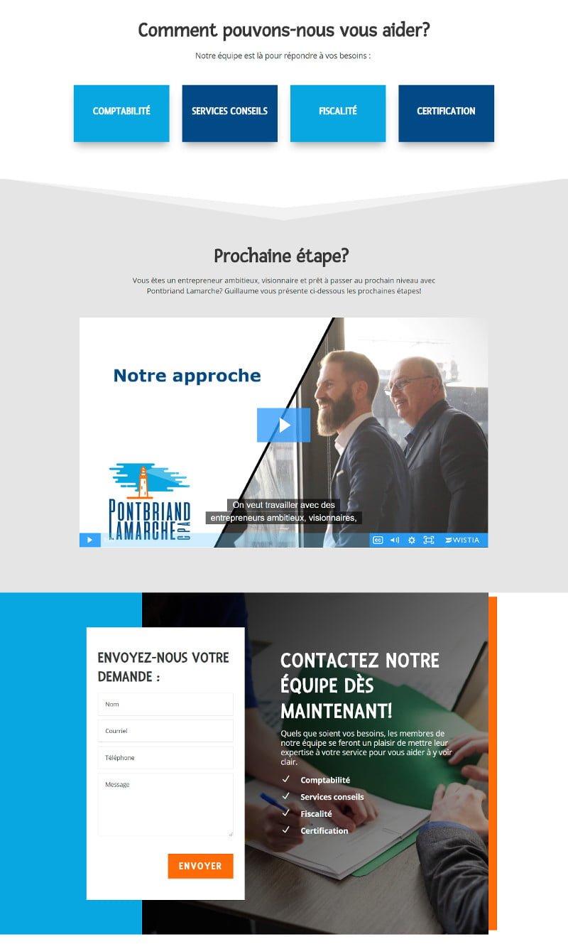 Portfolio - Pontbriand Lamarche - Accueil