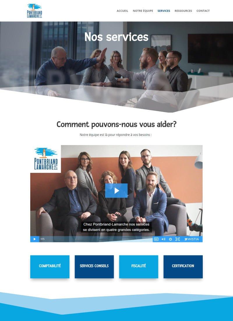 Portfolio - Pontbriand Lamarche - Services