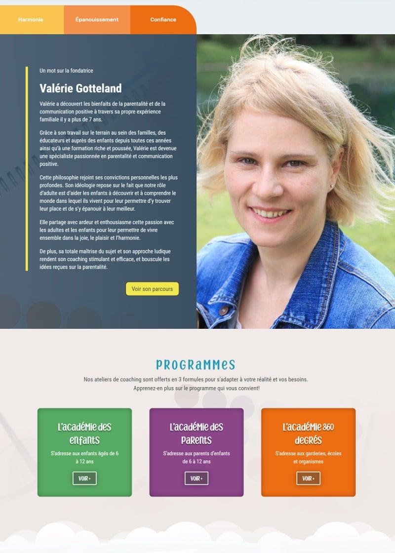 Portfolio - Valérie Gotteland - Accueil
