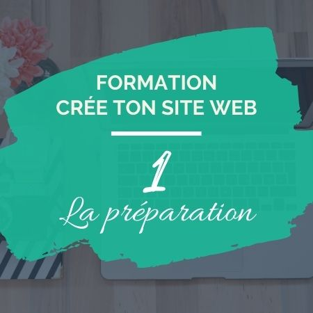 Formation en ligne - Crée ton site web 1 - Sophie Béjot