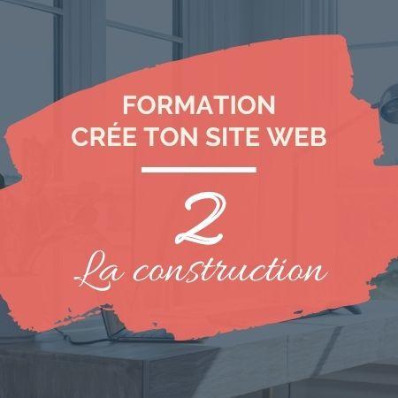 Formation en ligne - Crée ton site web 2 - Sophie Béjot