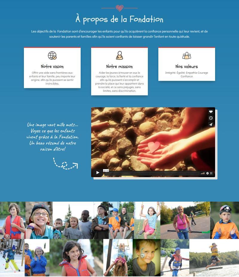 Portfolio - Fondation Coeur invincible 2